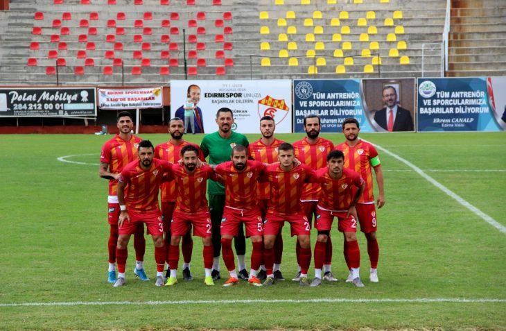 Edirne Belediyesi Paş Edirnespor -Nevşehir Belediyespor : 2-1