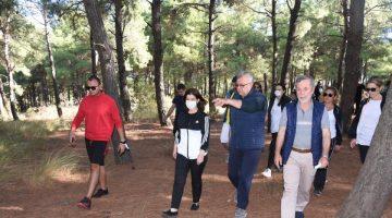 Milletvekili Aksal, Keşan Millet Bahçesi proje alanını inceledi