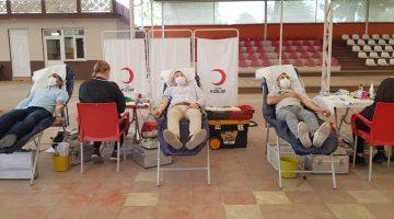Edirne'de kan stoklarını artırmak amacıyla bağış kampanyası düzenlendi