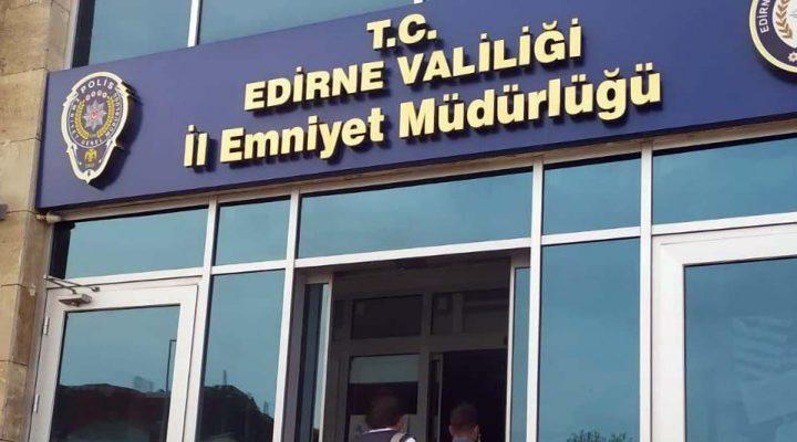 İzmir'deki yaşlı kadından dolandırdığı parayıEdirne'de çekerken yakalandı