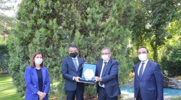 KEFEK Başkanı Aksal'dan Tarım ve Orman Bakanı Pakdemirli'ye ziyaret