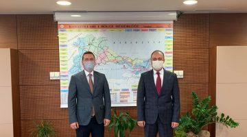 Aydın Balkan'dan Karayolları Bölge Müdürü Turgay Çolak'a ziyaret