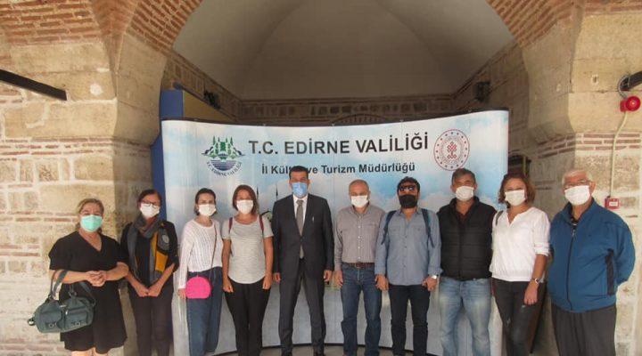 EFOD'dan Kültür ve Turizm Müdürü Soytürk'e ziyaret