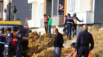 Muratlı'da cezaevi inşaatında toprak altında kalan işçi hayatını kaybetti