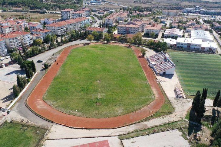 Gençlik ve Spor BakanlığıncaKeşan'a yeni spor alanları kazandırılıyor