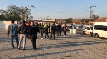 """Çorlu'da """"Huzur"""" operasyonunda 4 kişi gözaltına alındı"""