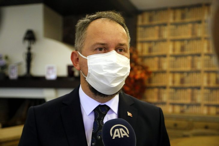 AK Parti Tekirdağ İl Başkanı Özcan'ın Kovid-19 testi pozitif çıktı