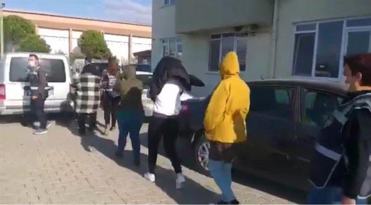 Edirnemerkezli 11 ilde düzenlenen FETÖ operasyonunda 26 şüpheli gözaltına alındı