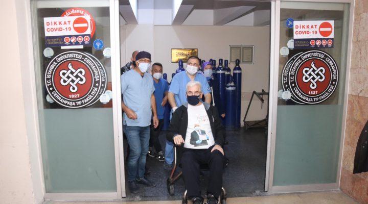 İstanbul'da Kovid-19 tedavisi gören Ergene Belediye Başkanı Yüksel taburcu edildi