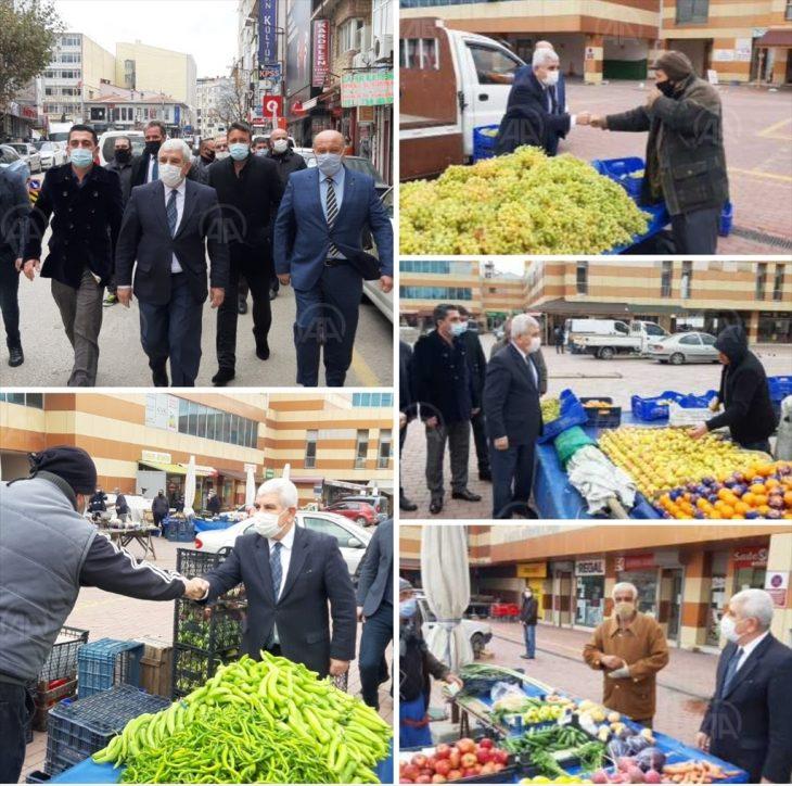 MHP'den Keşan'da ziyaretler