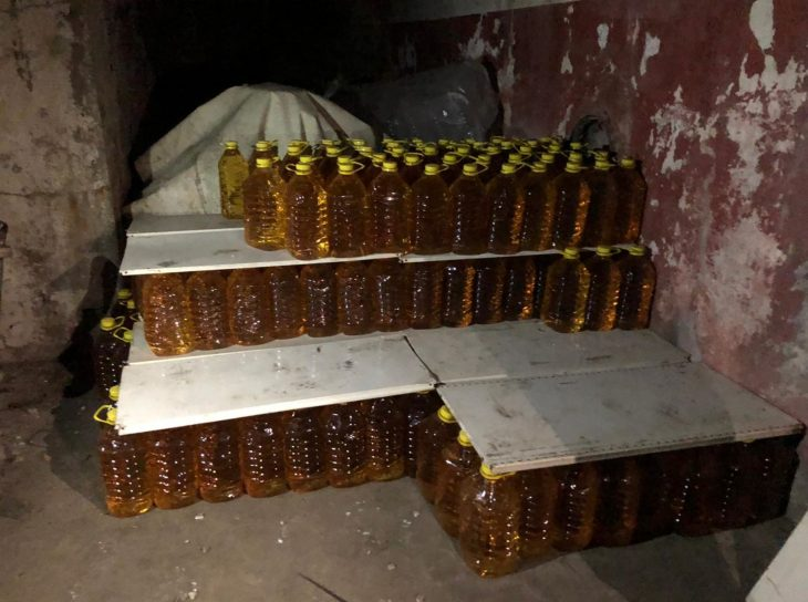 Şarköy'de 90,5 ton kaçak içki ele geçirildi