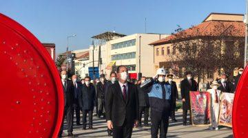 Edirne'nin kurtuluşunun 98'inci yıl dönümü törenle kutlandı