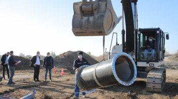 Edirne'nin su ihtiyacını karşılamak için iki barajın ishale hatları birleştiriliyor