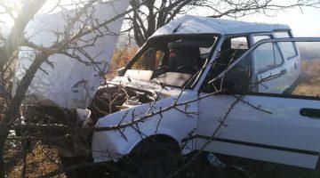 Keşan'da kontrolden çıkan otomobil ağaca çarptı: 1 yaralı