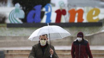 Çanakkale,Edirneve Balıkesir'de yarın kuvvetli yağış bekleniyor