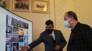 """Edirne Belediye Başkanı Gürkan, AA'nın """"Yılın Fotoğrafları"""" oylamasına katıldı"""