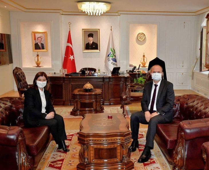 TBMM KEFEK Başkanı Aksal, Edirne Valisi Canalp'i ziyaret etti