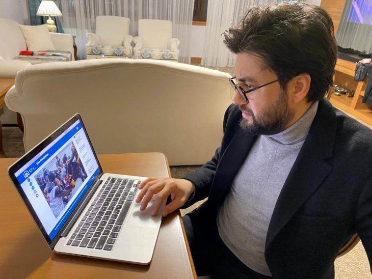 """Klarnet virtüozü Serkan Çağrı, AA'nın """"Yılın Fotoğrafları"""" oylamasına katıldı"""