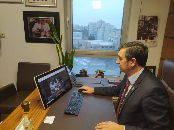 """CHP Edirne Milletvekili Gaytancıoğlu, AA'nın """"Yılın Fotoğrafları"""" oylamasına katıldı"""