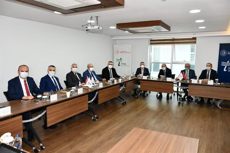 TRAKYAKA toplantısı Tekirdağ'da yapıldı