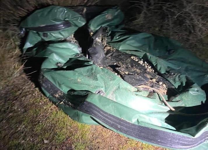 Enez'de yasa dışı avlanan avcılara operasyon düzenlendi
