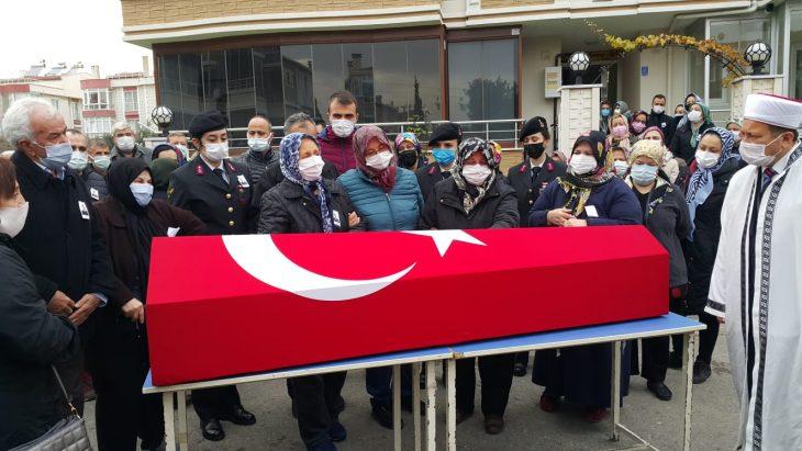 Ankara'da vefat eden Uzman Çavuş Tufan Sayacı, Şarköy'de toprağa verildi