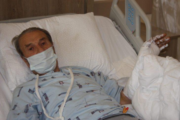 Keşan'da ormanda domuzun saldırdığı yaşlı adam yaralandı