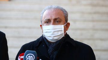 """TBMM Başkanı Mustafa Şentop'tan Keşan'da """"aşı"""" açıklaması"""