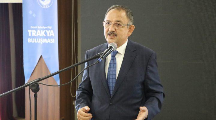 """AK Partili Özhaseki: """"(CHP) Bir tarafını İYİ Parti'ye yaslıyor, bir tarafını HDP'ye yaslıyor"""""""