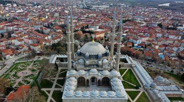 """Mimar Sinan'ın """"şaheseri"""" Selimiye salgın sürecinde de ilgi gördü"""