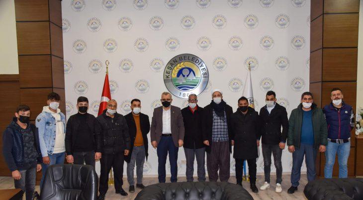 Helvacıoğlu, Cumhuriyet Mahallesi sakinlerini ağırladı