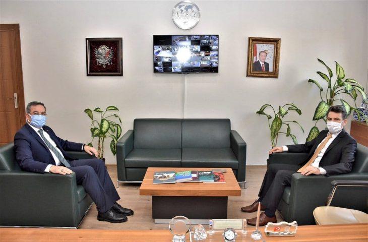 Adli Yargı Adalet Komisyonu Başkanı Görgülü'den Arpacı'ya ziyaret