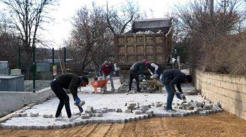 Süloğlu'nda yol yapım çalışmaları devam ediyor