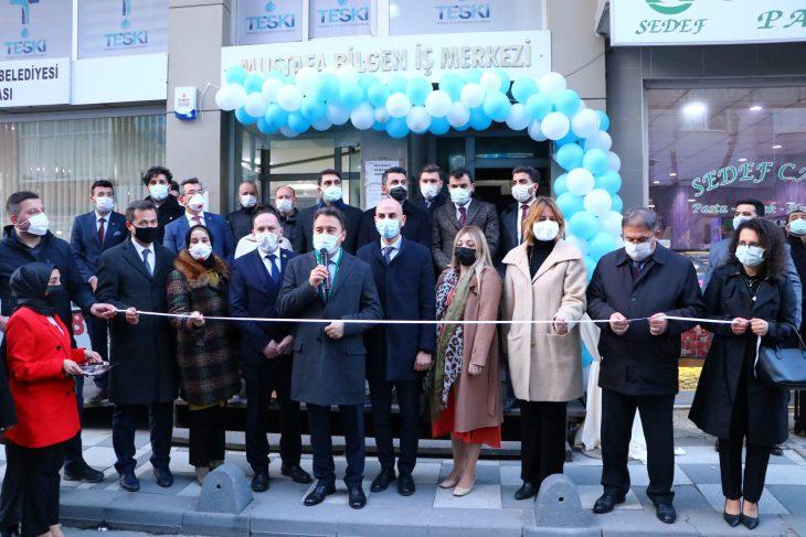 DEVA Partisi Genel Başkanı Babacan, partisinin Kapaklı ve Saray İlçe Başkanlık binalarının açılışını yaptı