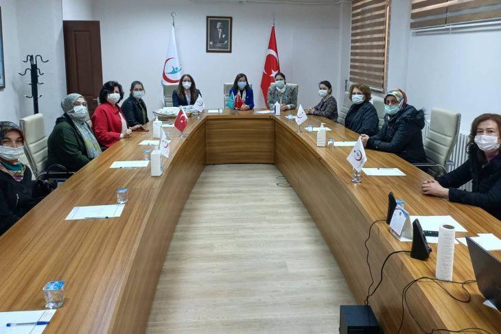 AK Parti heyeti KETEM'i ziyaret etti