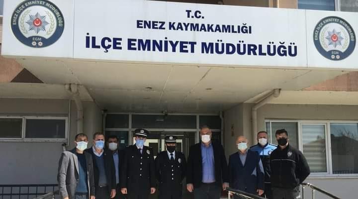 Enez ve Havsa'da Türk Polis Teşkilatı'nın 176. kuruluş yıl dönümü törenle kutlandı