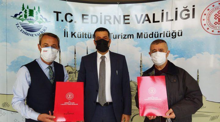 Kültür ve Turizm İl Müdürü Soytürk'ten kent tanıtımına katkı verenlere teşekkür belgesi