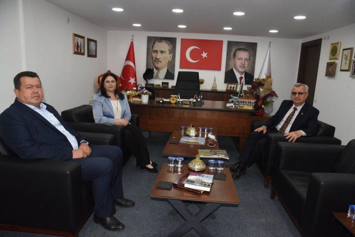 Keşan Belediye Başkanı Helvacıoğlu AK Parti İl Başkanlığı'nı ziyaret etti