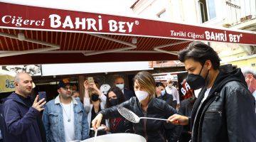 """""""Rotahane Projesi"""" ile Edirne'ye gelen heyet kenti gezip, tava ciğer pişirdi"""