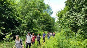 EDOSK üyeleri Longoz Ormanları'nda yürüdü