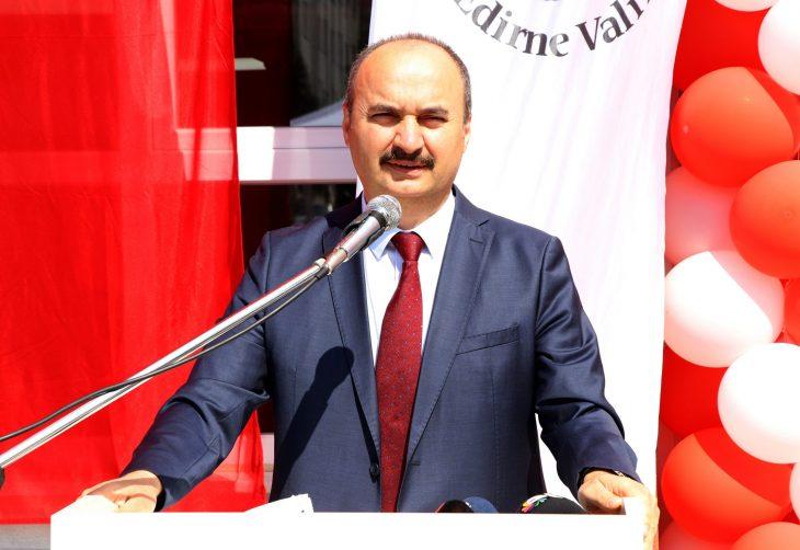 EdirneValisi Canalp'ten 30 Ağustos Zafer Bayramı mesajı