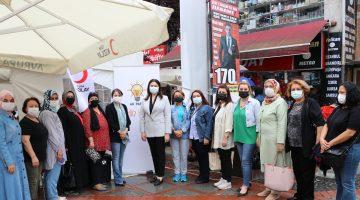 Edirne'de AK Parti'den kan bağışı kampanyasına destek