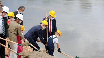 """Edirne'de """"Üç Nehir Bir Şehir"""" projesinin temeli atıldı"""