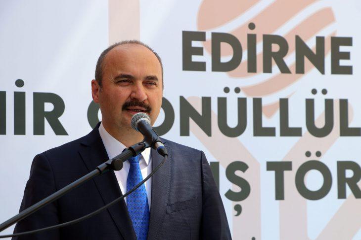 Edirne Valisi Ekrem Canalp'ten 1 Ekim Dünya Yaşlılar Günü açıklaması