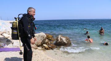 """""""Saros'un akvaryumu"""" dalış turizminin ilgi odağı oldu"""