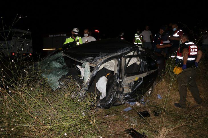 Edirne'de tırla otomobil çarpıştı: 1 ölü