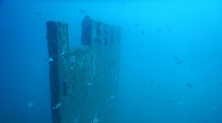 """Saros Körfezi'nde su altında oluşturulan """"Enez Tarihi Müzesi"""" balıklara yuva oldu"""
