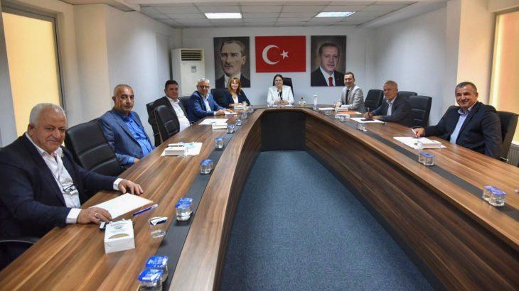 İl Başkanı İba belediye başkanlarıyla bir araya geldi