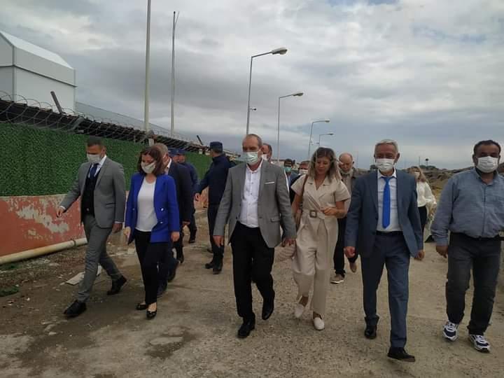AK Parti Edirne Milletvekili Aksal, Enez Deniz Gümrük Kapısı'nda incelemede bulundu
