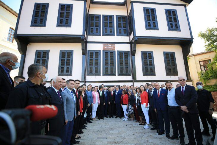 CHP Genel Başkanı Kılıçdaroğlu, Kırklareli'nde Atatürk Evi'ni ve Belediyeyi ziyaret etti